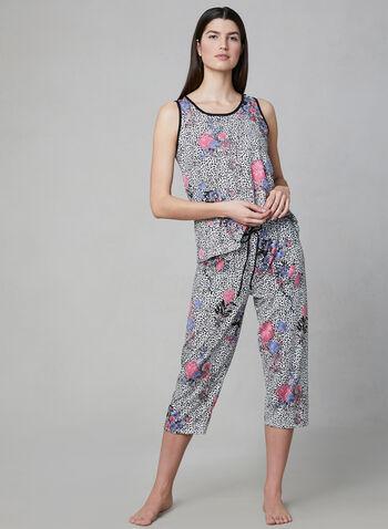 Hamilton - Leopard Print Pyjama Set, Black, hi-res,  Spring 2019, leopard print, pyjama