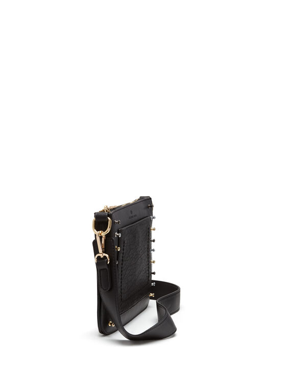 CÉLINE DION - Pizzicato Crossbody Bag , Black, hi-res