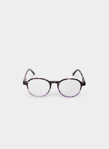 Round Eyeglasses, Purple,  canada, eyeglasses, glasses, two-toned, round, fall 2019, winter 2019