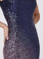 Cachet - Ombré Sequin Dress, Multi, hi-res