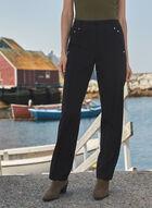 Lauren Petite Straight Leg Pants, Black