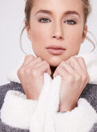 Kathy Ireland - Robe de chambre en peluche, Gris, hi-res