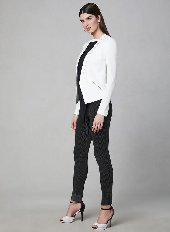 Slim Leg Pull-On Pants, Black, hi-res