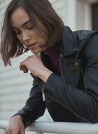 Vince Camuto - Vegan Leather Jacket, Black
