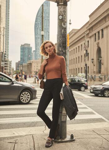 Pantalon Amber court à jambe étroite, Noir,  pantalon, amber, étroit, court, pinces, automne hiver 2020
