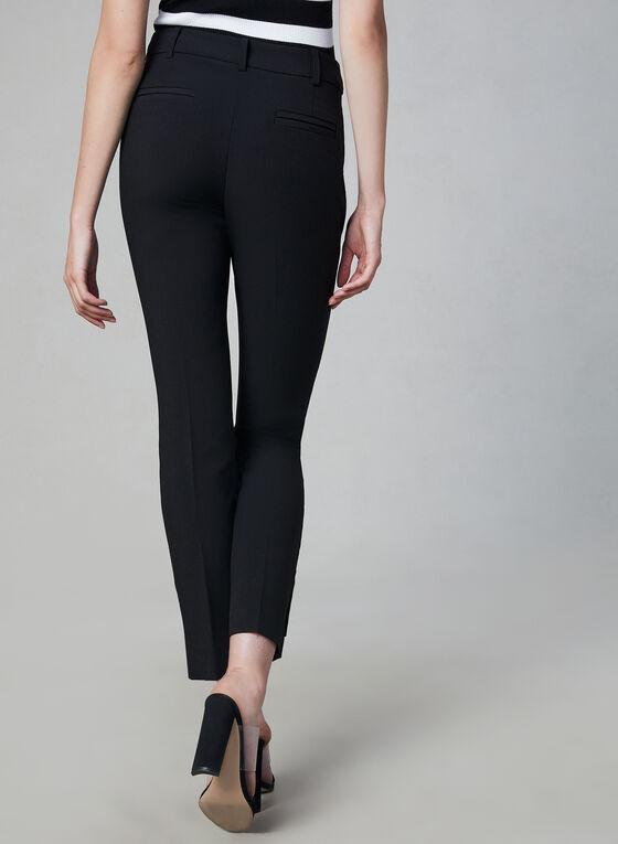 Pantalon coupe Giselle à jambe étroite, Noir, hi-res
