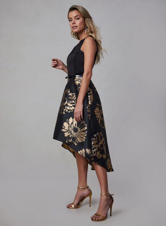 Donna Ricco - High Low Dress, Black