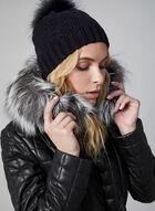 Sicily - Genuine Leather Quilt Coat, Black, hi-res