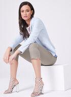Vex - Veste ouverte aspect cuir , Bleu, hi-res