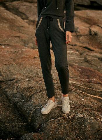 Joseph Ribkoff - Pull-On Pants, Grey,  made in Canada, Joseph Ribkoff, Frank Lyman, pants, pull on, elastic waist, drawstring, pockets, slim leg, fall winter 2021