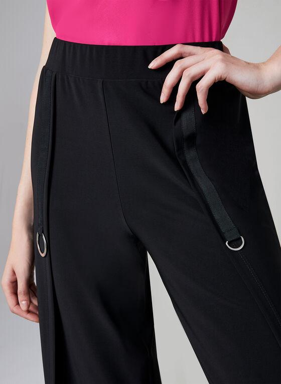 Compli K - Jupe-culotte à détails anneaux, Noir