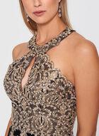 BA Nites - Crystal Embellished Velvet Gown, Black, hi-res