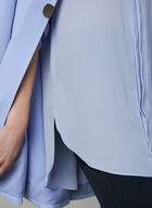 ¾ Sleeve Chiffon Blouse, Grey, hi-res
