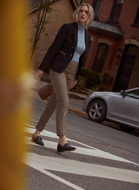 Amber Slim Leg Pants, Brown