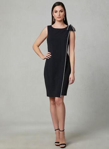 2842aa2b0c4 Karl Lagerfeld Paris - Faux Wrap Sheath Dress