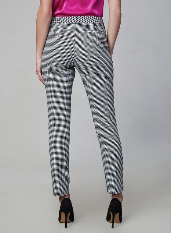 Vince Camuto - Houndstooth Pants, Black