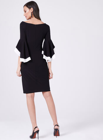 Frank Lyman - Off The Shoulder Sheath Dress, Black, hi-res