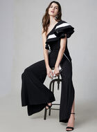 Frank Lyman - Wide Leg Jumpsuit, Black, hi-res