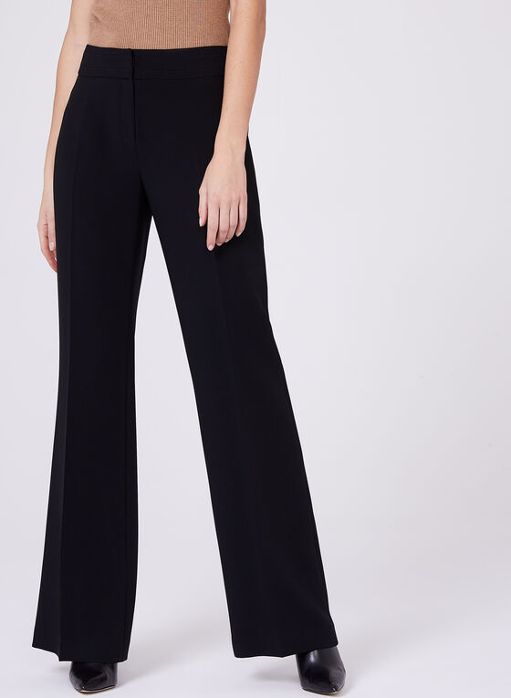 Louben - Straight Leg Pants, Black, hi-res
