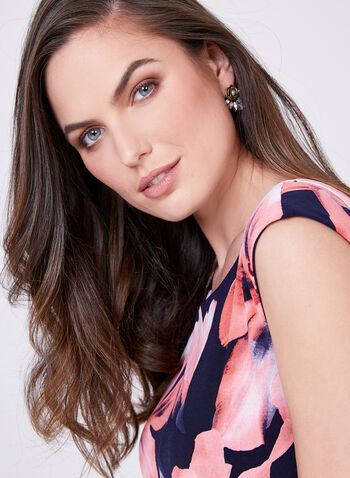 Frank Lyman - Floral Print Day Dress, Multi, hi-res