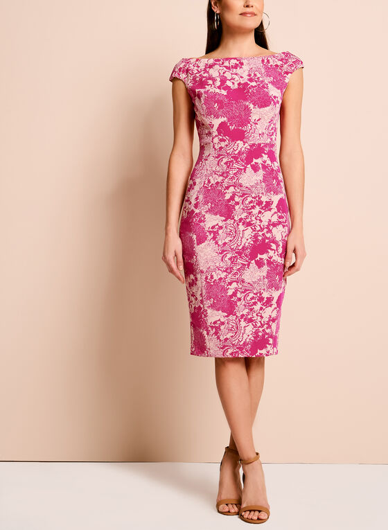13ba0d56 ... Jax Floral Lace Print Dress, Pink, hi-res ...