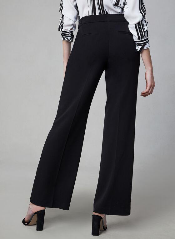 Pantalon coupe Soho à jambe large, Noir, hi-res