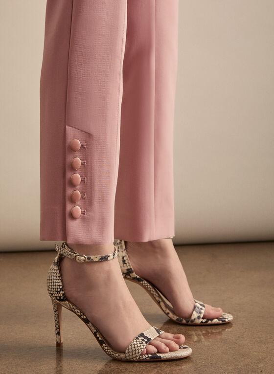 Slim Leg Pants, Pink