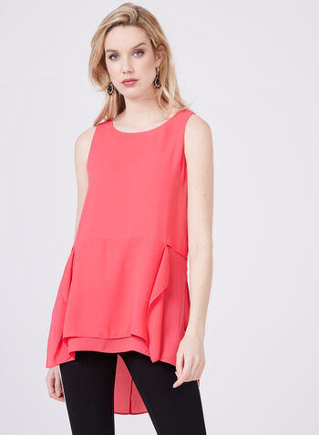 Sleeveless top Blouses, Pink, hi-res
