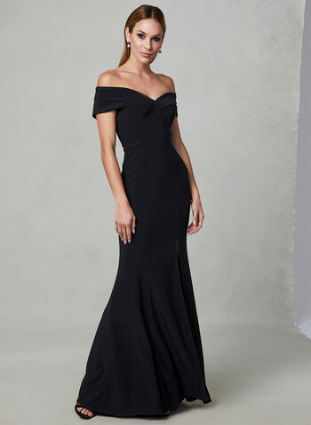 a1e56a6e80a ... BA Nites - Off The Shoulder Dress