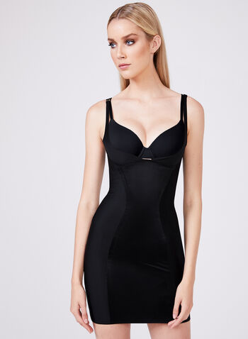 Body Hush - Shaping Slip, Black, hi-res