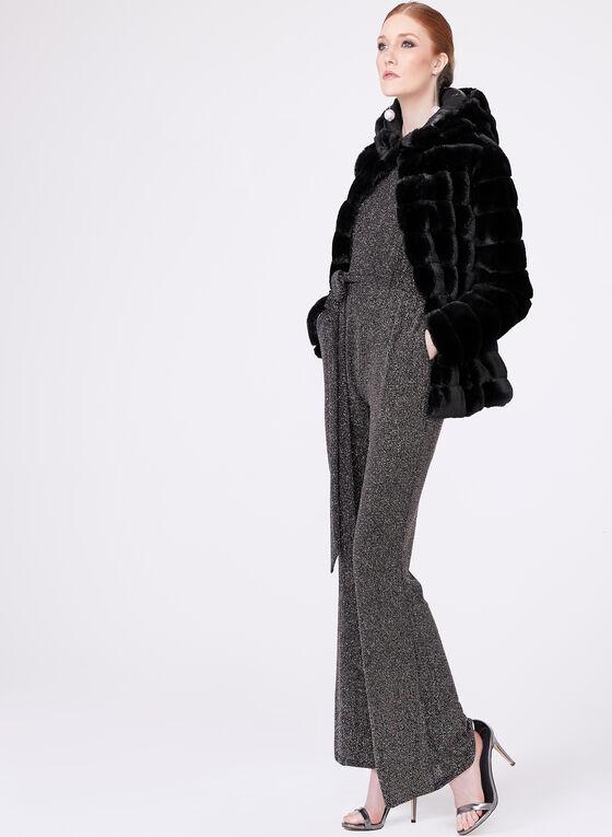 Vince Camuto - Combinaison en tricot métallique, Brun, hi-res