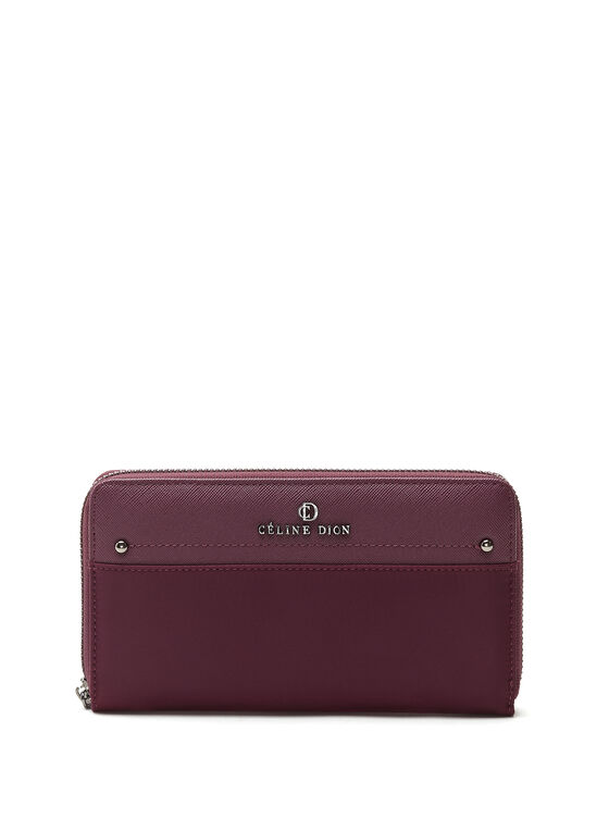 Céline Dion -  Long Wallet, Red, hi-res