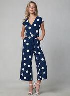 Karl Lagerfeld Paris - Combinaison à pois, Bleu, hi-res