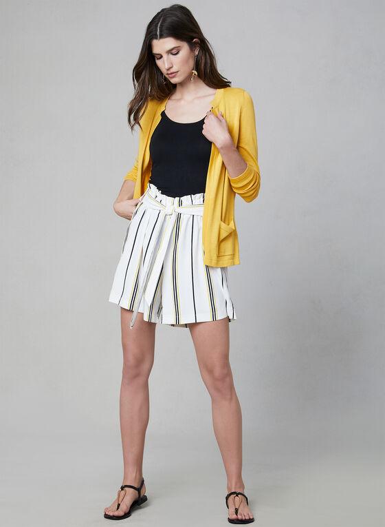 Chapter One - Stripe Print Shorts, White