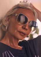 Oversized Sunglasses, Blue