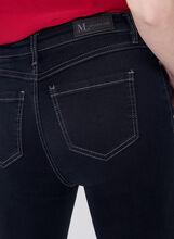Jean 5 poches à jambe étroite, Bleu, hi-res