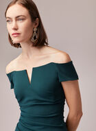 BA Nites - Off-the-Shoulder Gown, Green