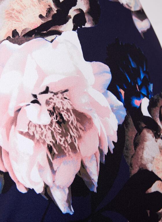 Jax - Floral Print Cold Shoulder Dress, Multi, hi-res