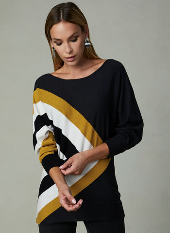 Conrad C - Dolman Sleeve Sweater, Black, hi-res