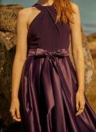 Alex Evenings - Cleo Neck Evening Dress, Purple