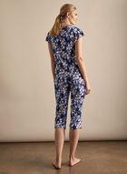 Hamilton - Floral Print Pyjama Set, Blue
