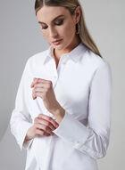 Frank Lyman - Tie Detail Button-Up Blouse, White, hi-res