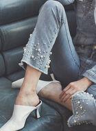 Joseph Ribkoff - Jeans à détails perlés , Bleu