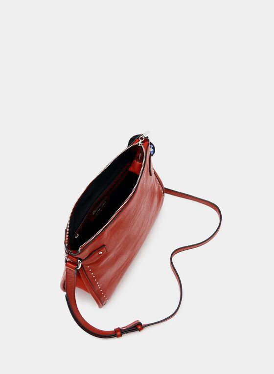 Joseph Ribkoff - Studded Crossbody Bag, Red, hi-res