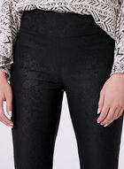 Pull-On Slim Leg Pants, Black, hi-res