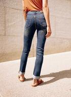 Faded Slim Leg Jeans, Blue