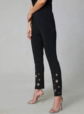 Joseph Ribkoff - Slim Leg Pants, Black, hi-res