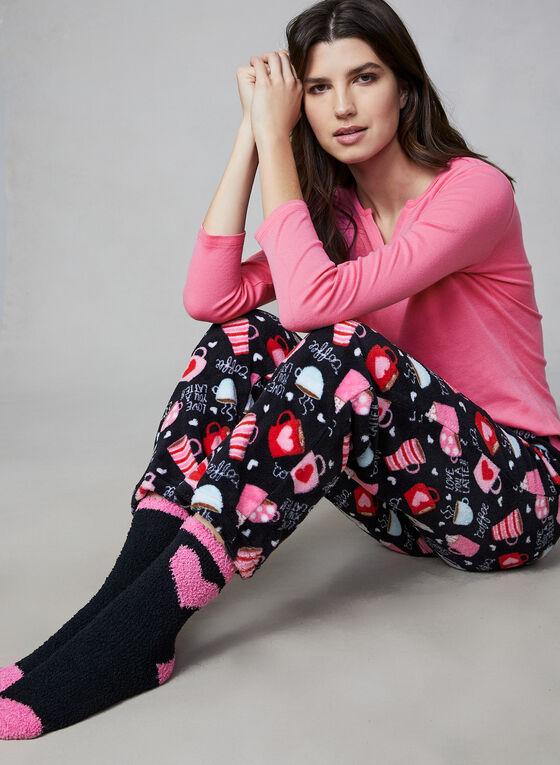 Pillow Talk - Three-Piece Pyjama Set, Pink
