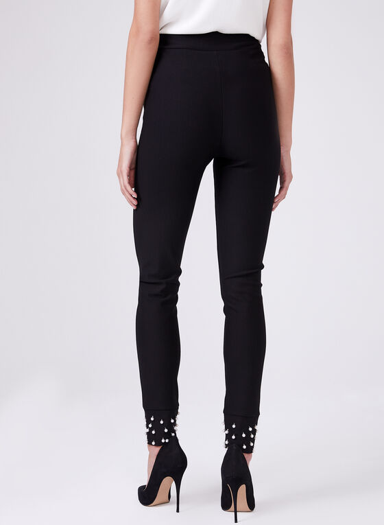 Frank Lyman - Pull-On Slim Leg Pants, Black, hi-res