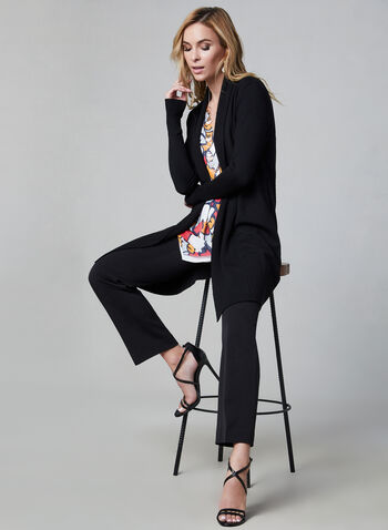 Petite Lauren Fit Pants, Black,  straight leg, petite, fall 2019, winter 2019, tailored,